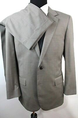 Jos A Bank Mens Signature Collection Suit 43L 34 x 29 Taupe