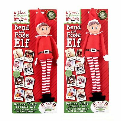Bend And Pose Elf Elves Behaving Badly 1pc