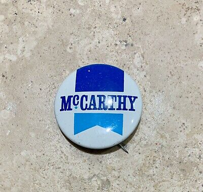 Vintage McCarthy For President Campaign Pinback Button