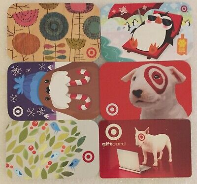 18 Eighteen Empty Target Gift Cards - Collectible