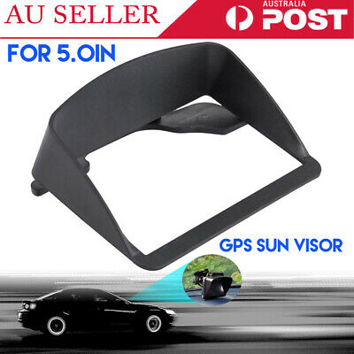Sun Shade Visor Shield GPS Sun Visor for Car GPS Navigation 5in Screen Hood AU