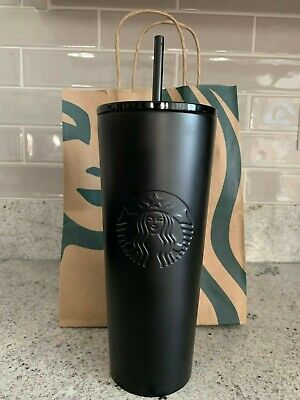 NEW Starbucks Halloween Matte Black Tumbler fall 2019