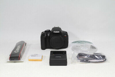 Canon EOS Kiss X6i ( Rebel T4i / 650D ) Camera - Black (Body Only)