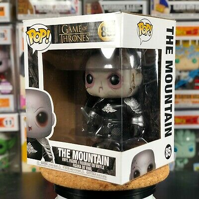 85 Funko POP! Game of Thrones The Mountain Unmasked 6 Inch w/ PROTECTOR
