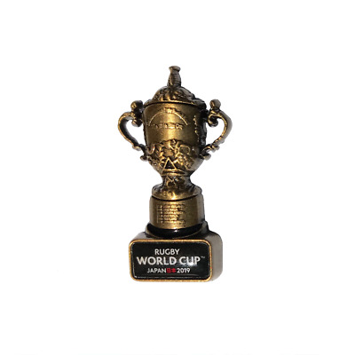 ENGLAND WALES  LIMITED EDITION official RUGBY WORLD CUP JAPAN 2019 TROPHY BADGE