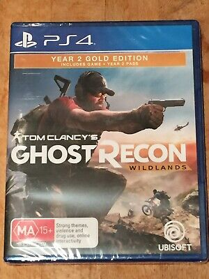 Tom Clancy's Ghost Recon: Wildlands Year 2 Gold Edition - PlayStation 4 - New