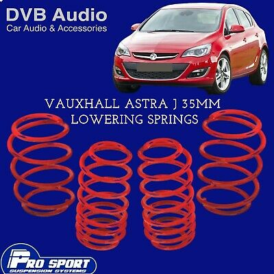 ProSport Lowering Springs for Vauxhall Astra J Hatch UK Seller 121860