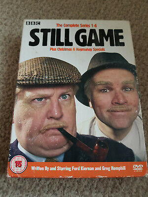 Still Game Complete Series 1-6 DVD box set with Free UK shipping