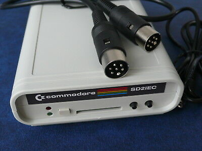 NEW SD2IEC Commodore 1541 Disk Drive Emulation SD Card Reader VIC20 C128 C64