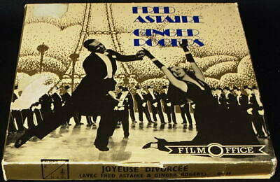 *** Film Super 8 Nb Sonore 86 Metres - Joyeuse Divorcee / Fred Astaire ***