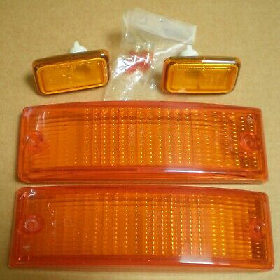 Porsche 911 Hella 1974-89 Indicator Lenses Bosch Side Repeaters  Used