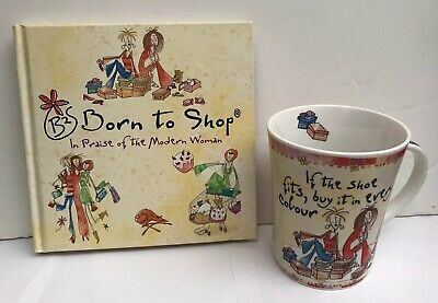 Born to Shop Book & Mug 'If The Shoe Fits . . . ' Mothers Day Gift?