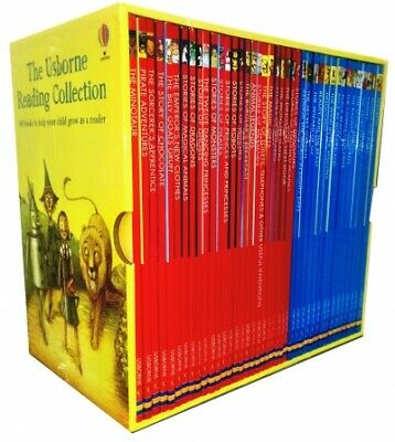 Usborne Young Reading Collection 40 illustrated Books Box Set Read at Home L1-2