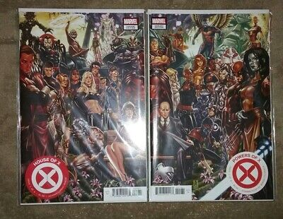 HOUSE OF X & POWERS OF X 1, 2, 3, 4, 5, 6 Complete Connecting Variant Set X-Men