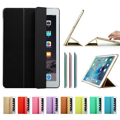 Smart Stand Magnetic New Leather Case Cover for All  Apple iPad Models