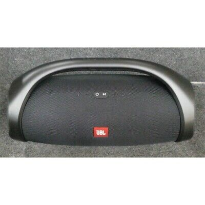 "JBL Boombox Portable Bluetooth Speaker With Two 4"" Woofers 30W Peak Black"