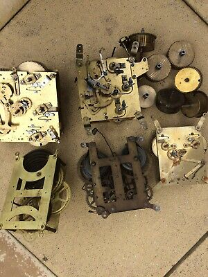 Job Lot Of Clock/clock Parts Spare Repair Or Restoration. Collection Only .