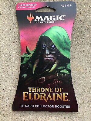 Magic the Gathering Throne of Eldraine Collector's 15 Card Booster SEALED