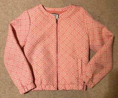 J Jeans Japer J Conran Girls Pink Jacket Age 8-9 Used New Condition