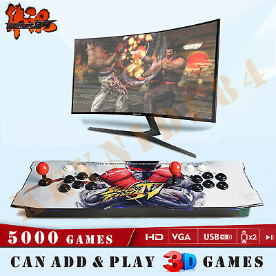 2650 Games Pandora Box 3D Retro Video Game Arcade Console Machine Double Sticks