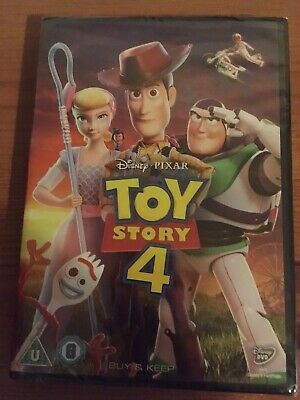 Toy story 4 dvd - New And Sealed