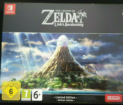 The Legend Of Zelda Link's Awakening Limited Edition Nintendo Switch - PAL UK