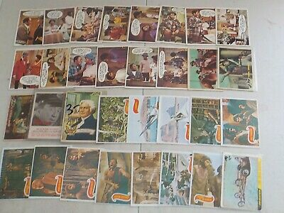 Huge Non Sports Lot of 224 Cards w/ 1950's, 1960's, Planet of the Apes Nice! 860