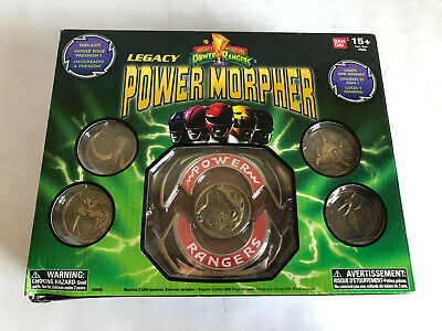 Power Rangers Mighty Morphin Legacy Edition Morpher New with Opened Box