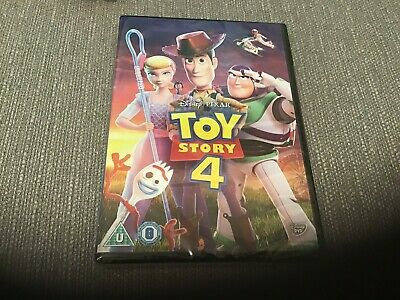 Toy Story 4 [DVD] RELEASED 21/10/2019 New & Sealed