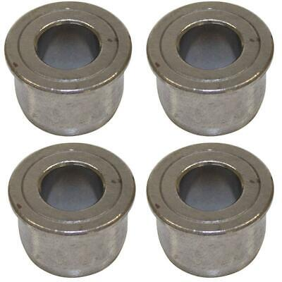 """Set of 4 Front Wheel Bushings for Riding Mowers 1-3/8"""" OD 3/4"""" ID 1"""" Tall"""