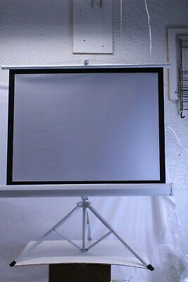 Pyle Projector Viewing Display Screen: 40-inch/Easy Fold-Out with Stand