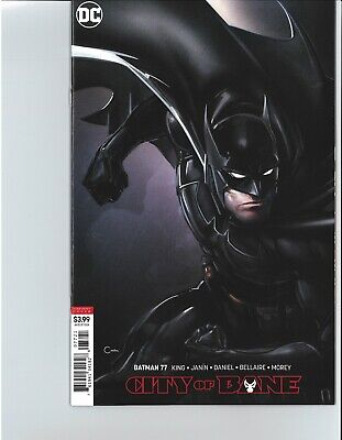 Batman 77 City of Bane 3 Death of Alfred Catwoman Harley Quinn Joker Variant VF+
