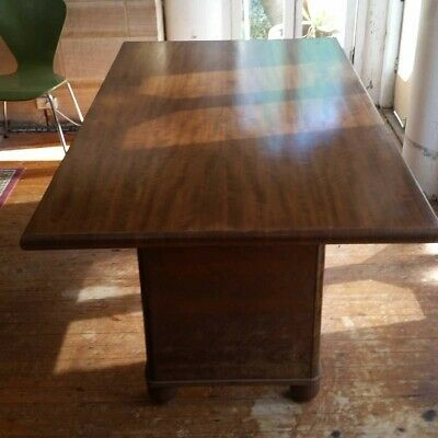Vintage dining table - Walnut