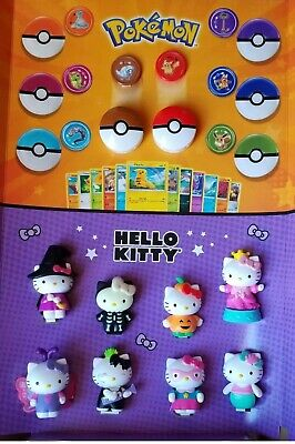 2019 McDonalds Happy Meal Toys POKEMON TOYS/ HELLO KITTY CHOOSE YOURS!