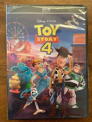 Toy Story 4 (DVD, 2019) [BRAND NEW SEALED] - FREE FAST SHIPPING!
