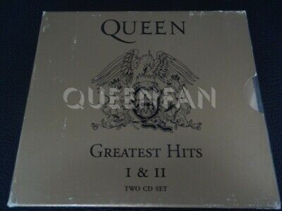Cd Album Queen Greatest hits I and II (Austria) Silver labels