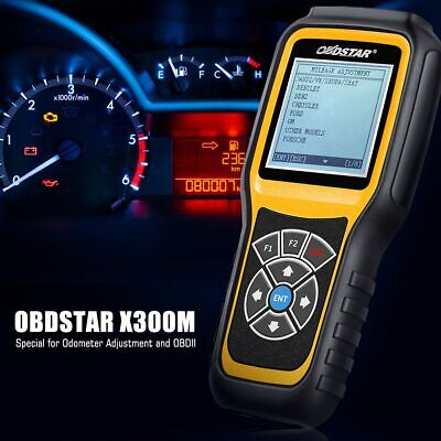 OBDSTAR X300M OBD2 Diagnostic Tool OBDII Odo-meter Correction Mileage Adjustment