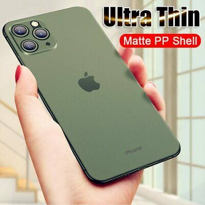 For iPhone 11 Pro Max XR 7 8 Plus Luxury Ultra Thin Case Shockproof Matte Cover