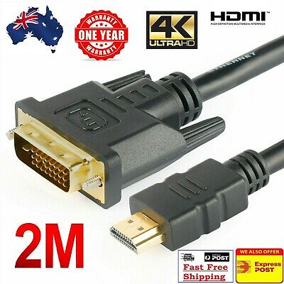 HDMI to DVI Cable 24+1 Pin Male Cable for Projectors Monitor Cable For PC Laptop