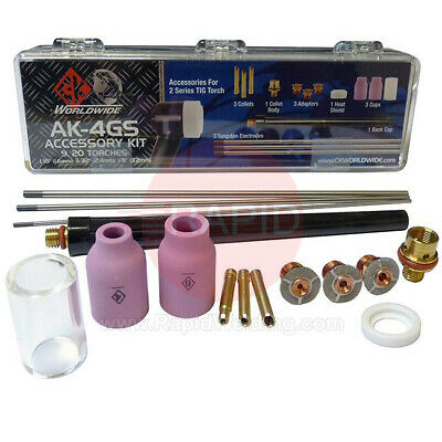 CK AK-4GS Tig Torch Accessory Kit - 2 Series