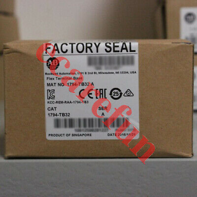 New Saled Allen-Bradley Flex Terminal Base Unit 1794-TB32 for 32 Point Modules