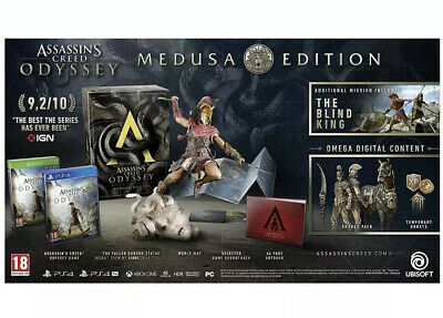 Assassin's Creed Odyssey Medusa Edition For Xbox One New And Sealed!