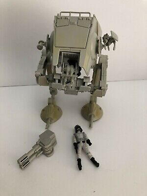 Star Wars Black Series 3.75 inch Imperial AT-ST WALKER with Driver Figure Loose