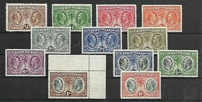 Cayman Islands @  1932 Sg 84/95 Mnh @ G.b 49