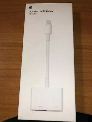 GENUINE Apple Lightning to Digital AV Adapter MD826AM/A NEW