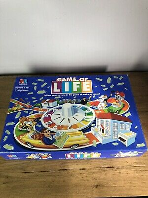Game of Life VTG Family Classic Board Game MB Games 1997 Hasbro 100% Complete