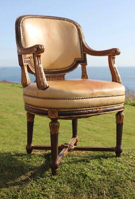 White Star Line Rms Olympic A'la Carte Dining Room Chair C-1911 Titanic Era