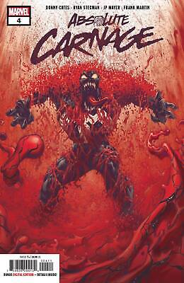 Absolute Carnage #4 Donny Cates Ryan Stegman Spider-Man Venom Marvel Comics 2019