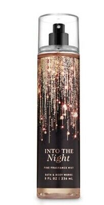 Bath And Body Works. Fine Frangrance Mist. INTO THE NIGHT New For 2019!