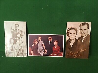 3 Early Richard Nixon Campaign Post Cards